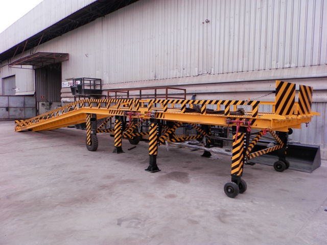 First New Promech Portable Trailer Docking Ramp Now In